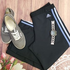Adidas capris exercise pants